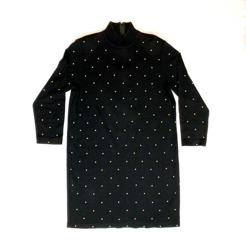 Vintage Outlander Studded Sweater Dress- Front