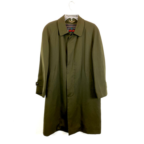 Vintage New Line Clothiers Twill Trench Coat- Front