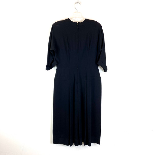 Vintage Laura Lenox Sculptural Dress- Front