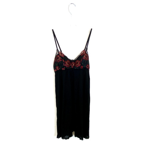 Hanky Panky Rose Print Padded Baby Doll- Front
