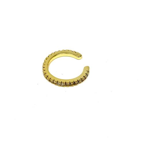 Shashi Adjustable Pave Midi Ring/Ear Cuff- Thumbnail