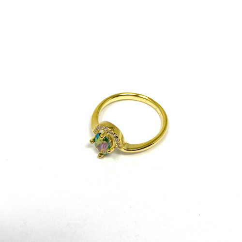 Shashi Irridescent Ring- Thumbnail