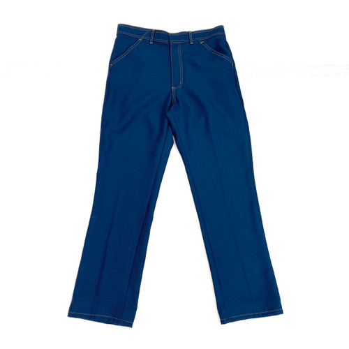 Vintage Contrast Stitch Twill Flares- Thumbnail