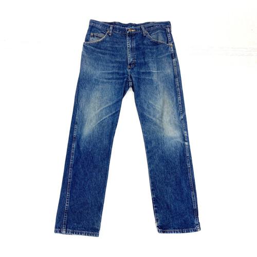 Vintage Wrangler True Blue Straight Leg Jeans- Front