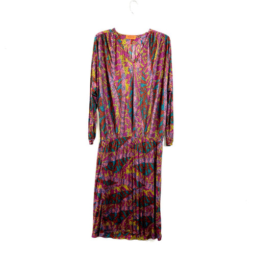 Vintage Missoni Drop Mosaic Dress- Front