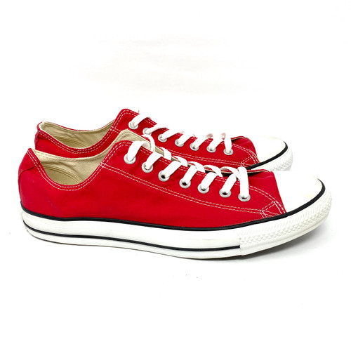 Converse Red Low Top- Right