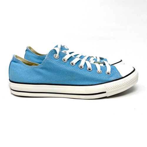Converse Light Blue Low Top- Right