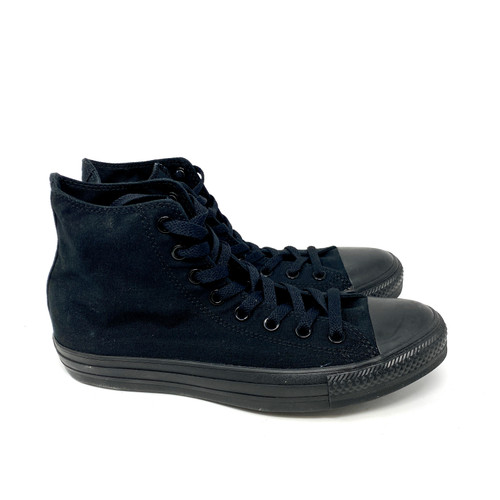 Converse All Black High Top- Right