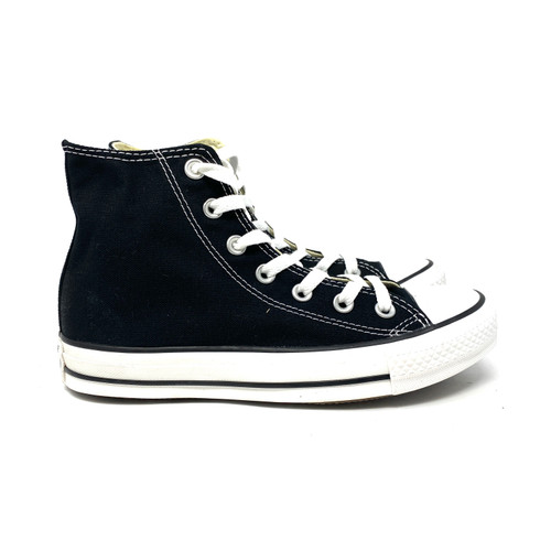 Converse Black High Top- Right