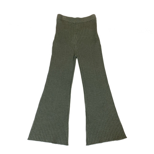 Creatures of Comfort Wool Ribbed Pants- Front