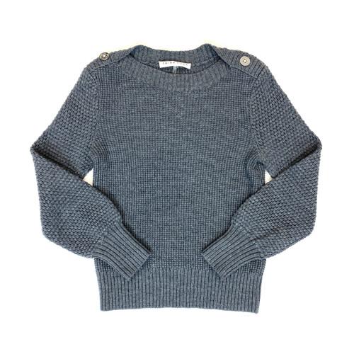 Trina Turk Waffle Knit Wool Sweater- Thumbnail