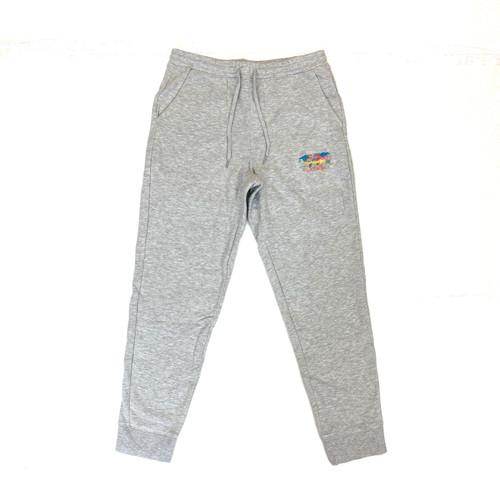 Sies Marjan x Amo Gray Color World Sweatpants- Front