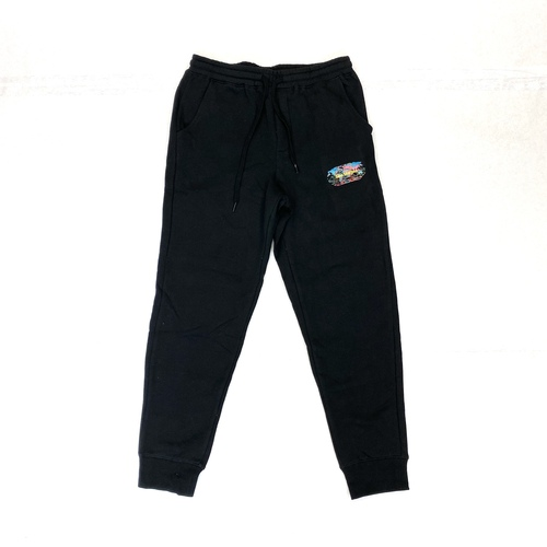 Sies Marjan x Amo Black Color World Sweatpants- Front