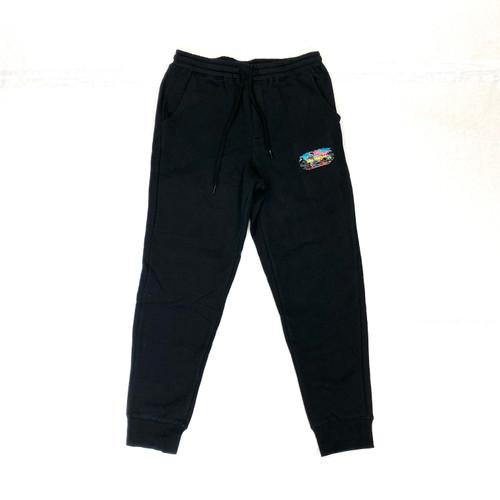 Sies Marjan x Amo Black Color World Sweatpants- Front