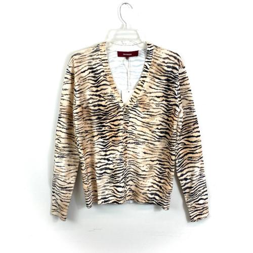 Sies Marjan Zebra Cardigan- Front
