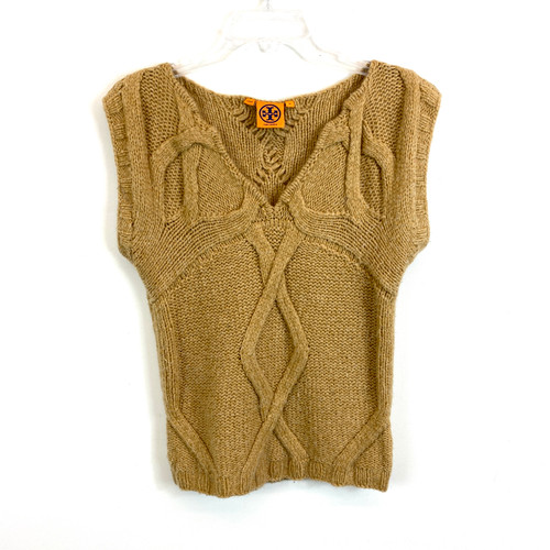 Tory Burch Knit Sweater Vest- Front