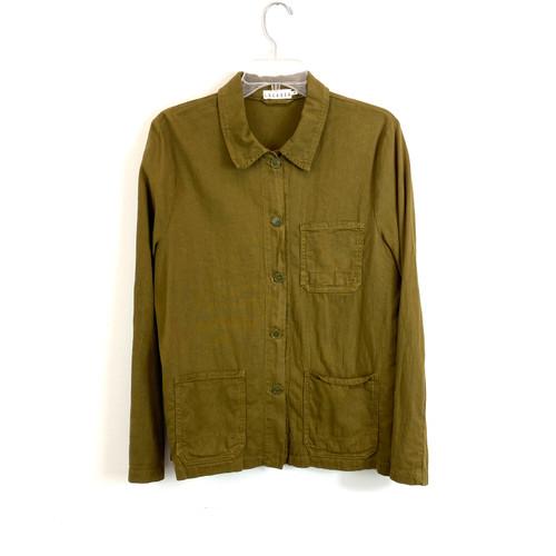 Lacausa Tencel Cotton Work Shirt- Front