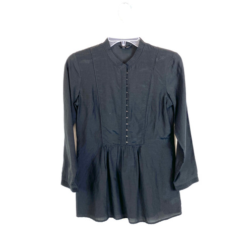 Theory Aldys Pristine Blouse- Front