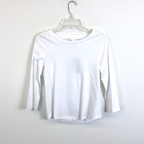 COS Cotton Long Sleeve T-Shirt- Front