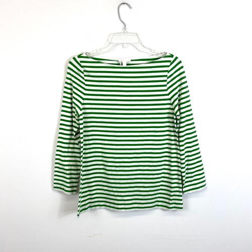 COS Breton Stripe Long Sleeve T-Shirt- Front