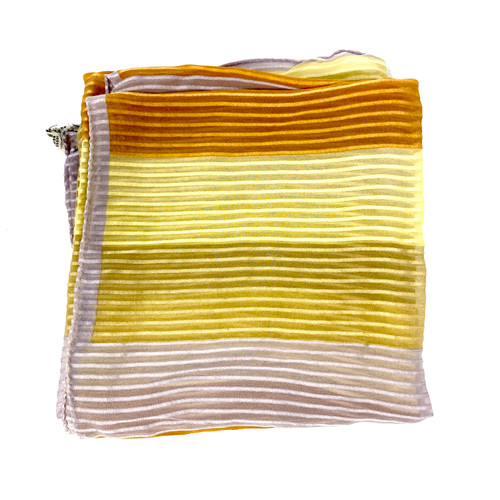 Vintage Echo Pastel Stripe Scarf- Thumbnail