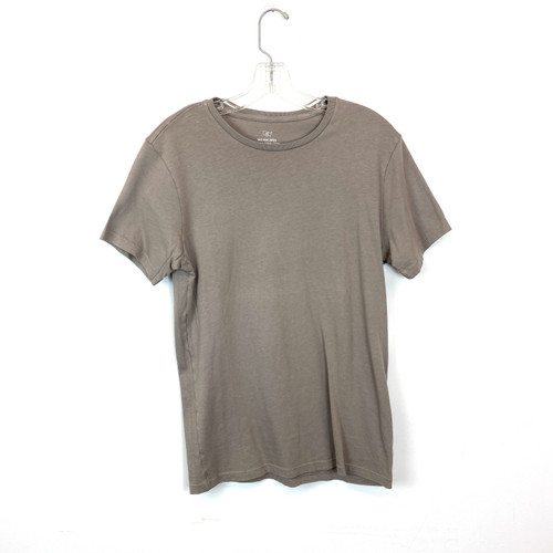 Save Khaki United Gray Supima Cotton T-Shirt- Front