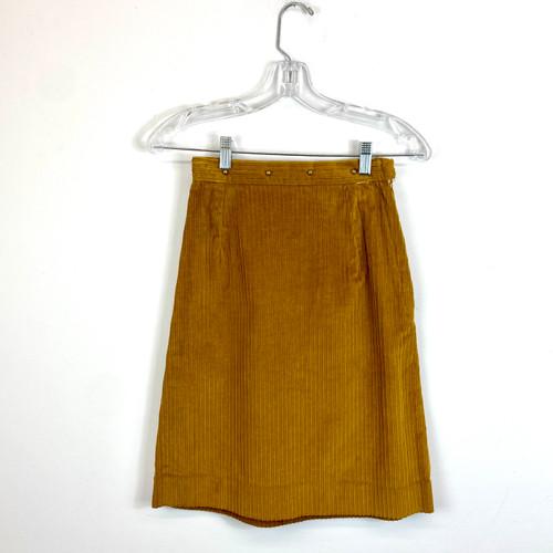 Vintage Corduroy Skirt- Front