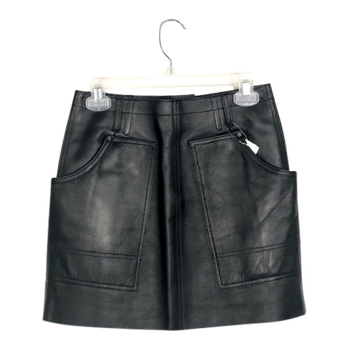 Coach Leather Mini Skirt-Thumbnail