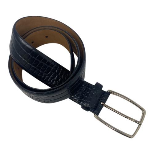 Brooks Brothers Embossed Belt- Rolled