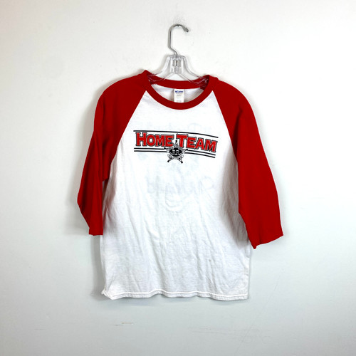 Vintage Home Team Raglan T-Shirt- Front