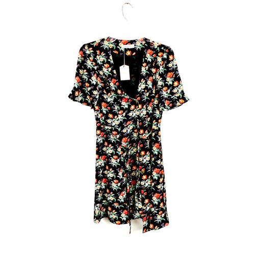 Oasis Floral Print Dress - Front