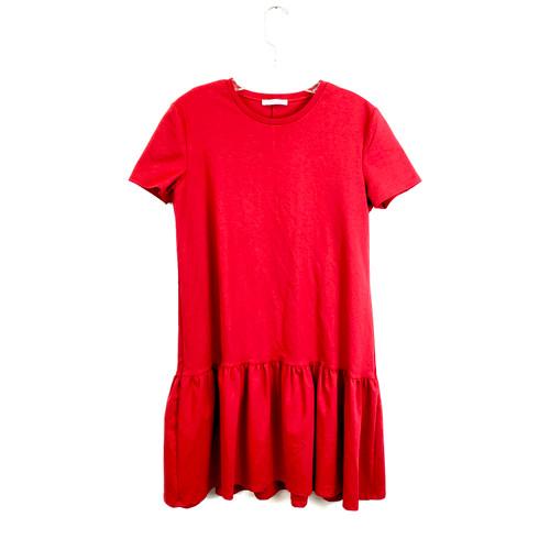 Zara Short Sleeve Swing Dress - Front