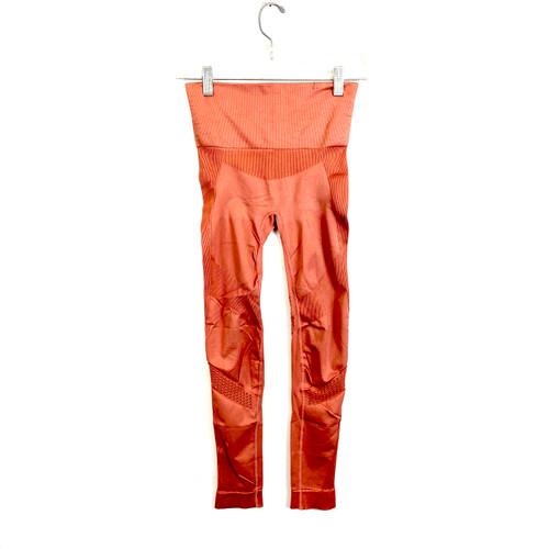 ALALA Blush Perforated Leggings - Front