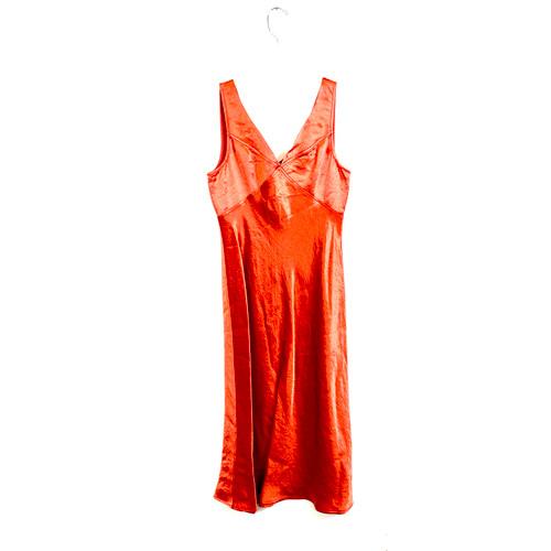 Sies Marjan Buffy Washed Satin Slip Dress- Front