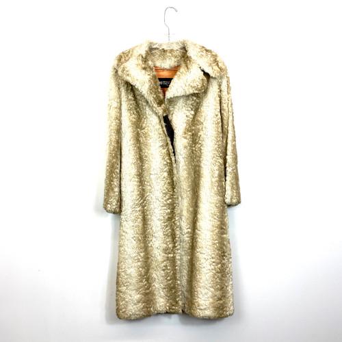 Vintage Nutrisport Fur Coat- Front