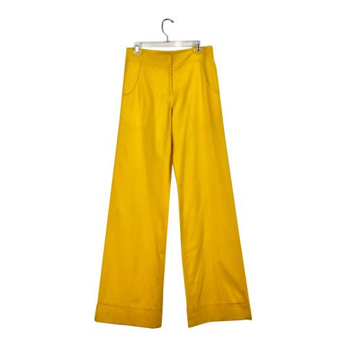 Derek Lam 10 Crosby Wide Leg Jeans-Front