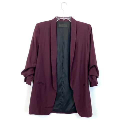 [BLANKNYC] Scrunched Sleeve Blazer- Front