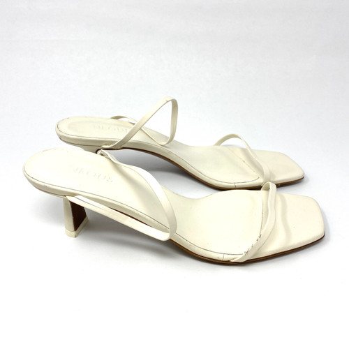 Neous Strappy Kitten Heel Sandal- Right