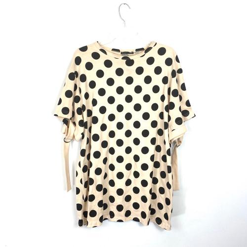 Zara Polka Dot T-Shirt- Front
