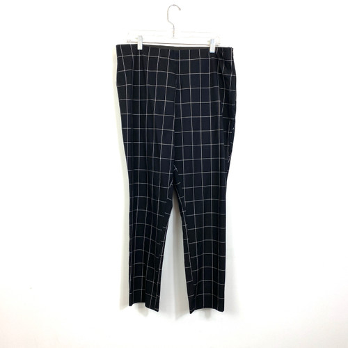 A New Day Checked Trousers- Front