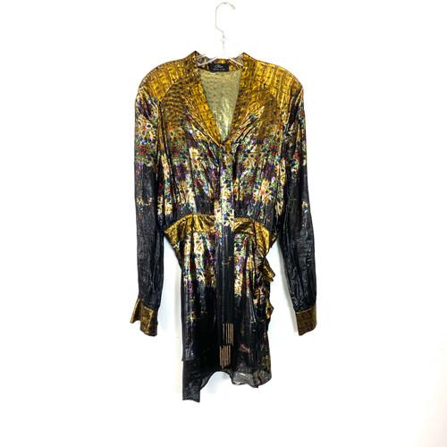 Cher by Michel Klein Disco Mini Dress- Front