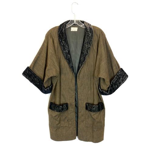 Vintage Midsummer Night's Dream Bed Jacket- Front