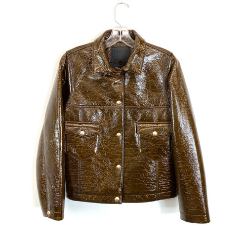 [BLANKNYC] Faux Fur Sherpa Moto Jacket- Front