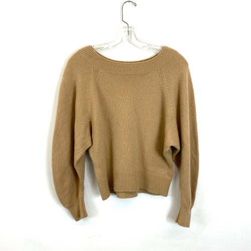 Vince Wool Cashmere Boat Neck Sweater- Front