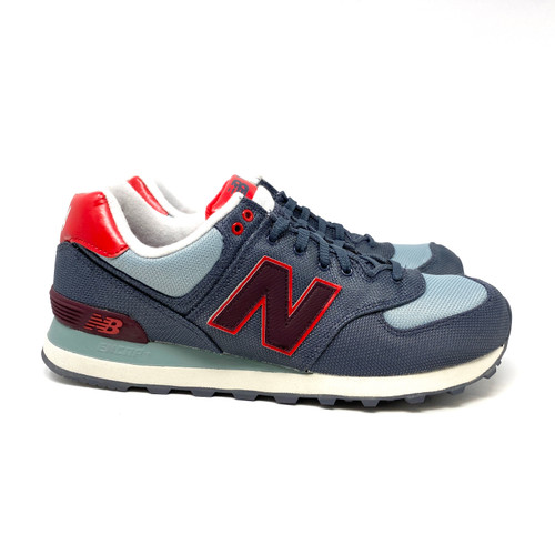 New Balance Gray 574 Classics Traditionals- Front