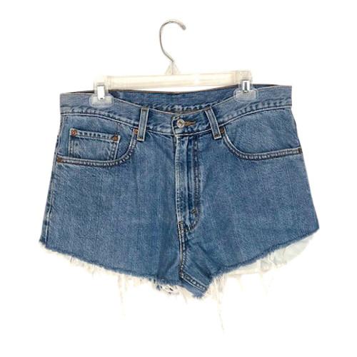 Vintage Levi's Cut Off Shorts- Front
