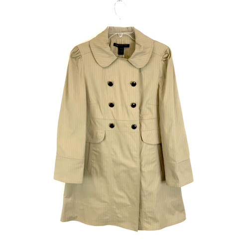 Marc by Marc Jacobs Double-Breasted Trench Coat- Front
