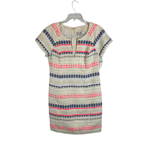Trina Turk Embroidered Jacquard Dress- Front