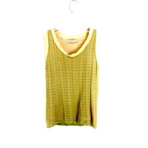 Stella McCartney Delicate Crochet Tank- Front