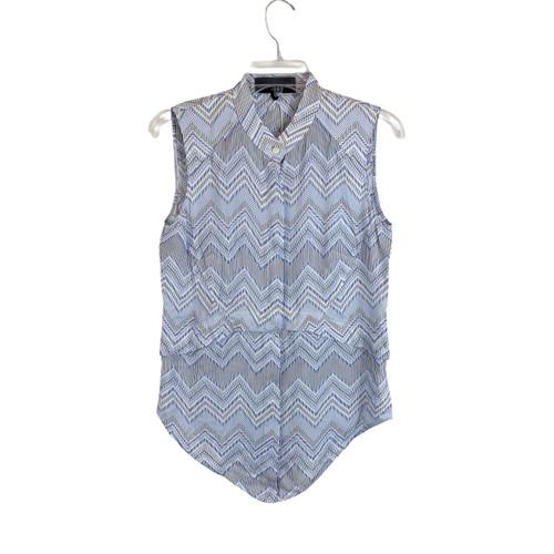 Hilton Hollis Sleeveless Shirttail Top- Front